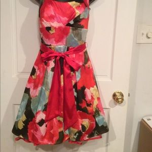 B. Darlin halter top party dress/sun dress